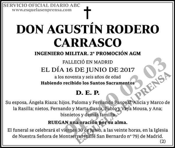 Agustín Rodero Carrasco